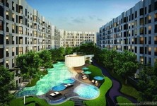 For Sale Condo 41 sqm Near BTS Bearing, Samut Prakan, Thailand