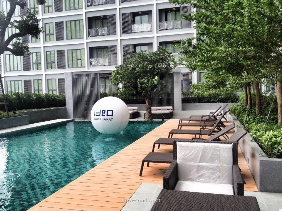 Ideo Wutthakat - For Sale コンド 22 sqm Near BTS Wutthakat, Bangkok, Thailand | Ref. TH-YQHMRFCE