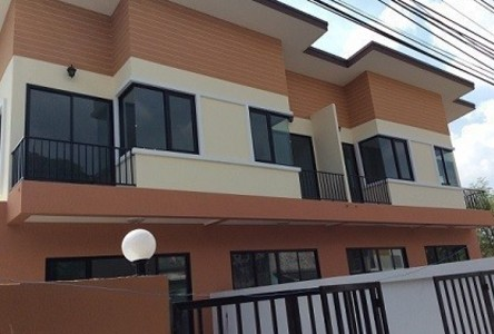 For Sale 2 Beds Townhouse in Thanyaburi, Pathum Thani, Thailand