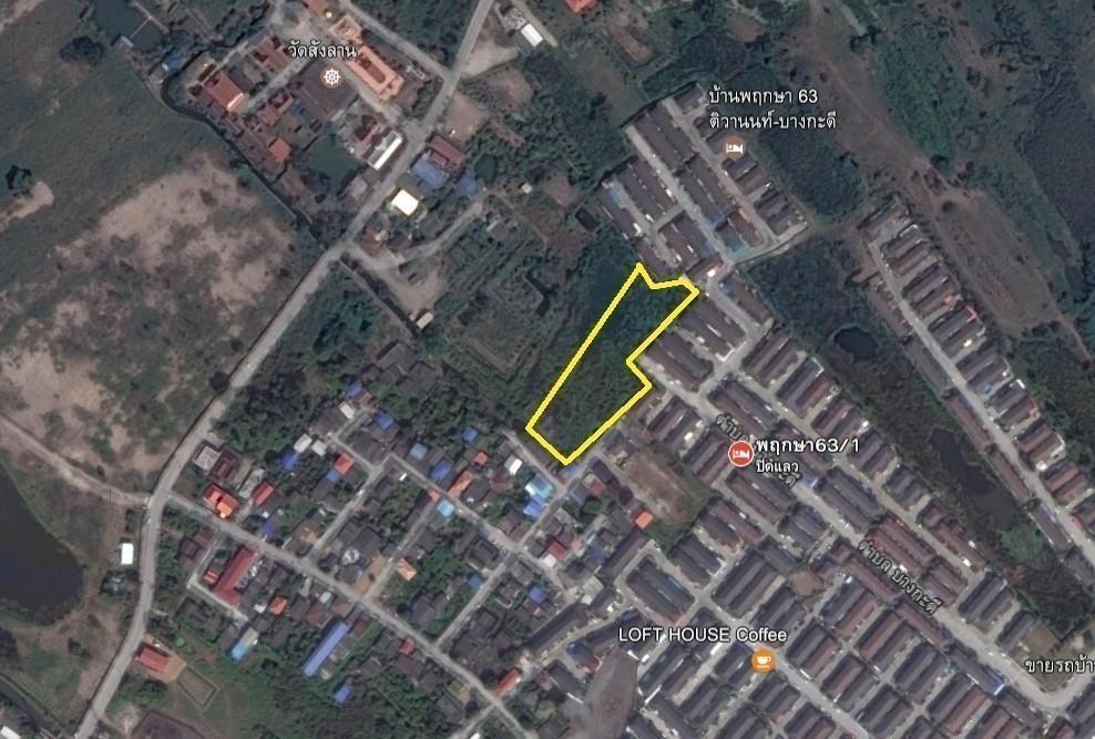 ขาย ที่ดิน 3-0-84 ไร่ เมืองปทุมธานี ปทุมธานี | Ref. TH-SNLWUEKF