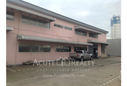 For Rent Warehouse 1,188 sqm in Wang Thonglang, Bangkok, Thailand