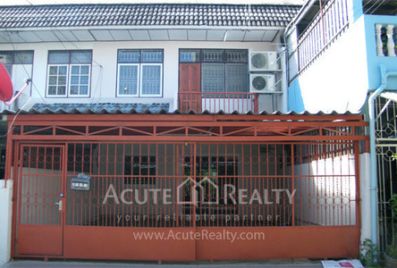 For Sale 4 Beds Townhouse in Huai Khwang, Bangkok, Thailand