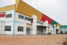 For Rent Warehouse 1,470 sqm in Mueang Samut Sakhon, Samut Sakhon, Thailand