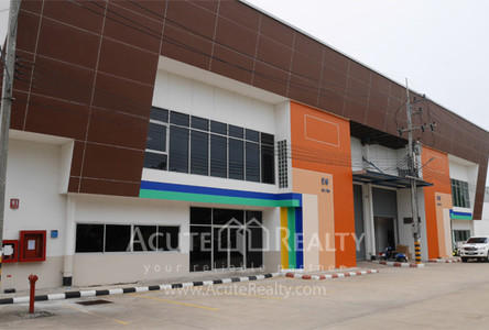 For Rent Warehouse 751 sqm in Mueang Samut Sakhon, Samut Sakhon, Thailand