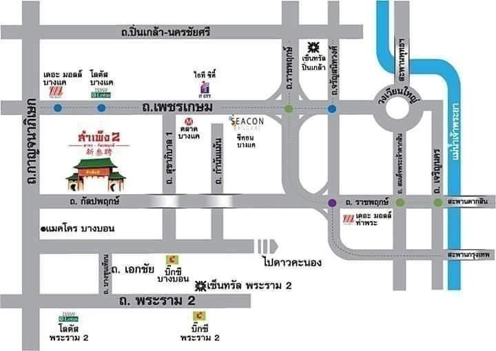 For Rent Shophouse 120 sqm in Bang Bon, Bangkok, Thailand | Ref. TH-LCZSSNAV