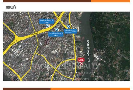 Продажа: Земельный участок в районе Yan Nawa, Bangkok, Таиланд