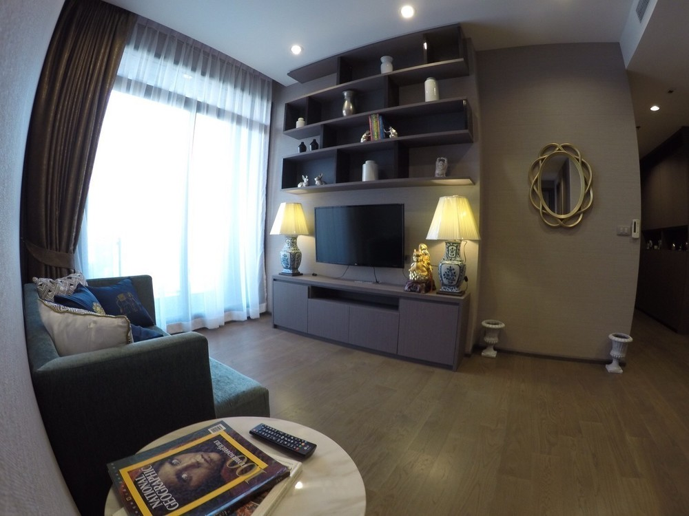 The Diplomat Sathorn - В аренду: Кондо с 2 спальнями возле станции BTS Chong Nonsi, Bangkok, Таиланд | Ref. TH-LXAQSMNM