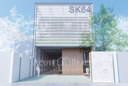 For Rent Office 800 sqm in Phra Khanong, Bangkok, Thailand