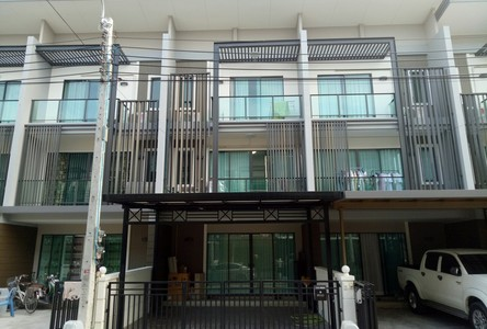 For Sale or Rent 3 Beds タウンハウス in Bang Bua Thong, Nonthaburi, Thailand
