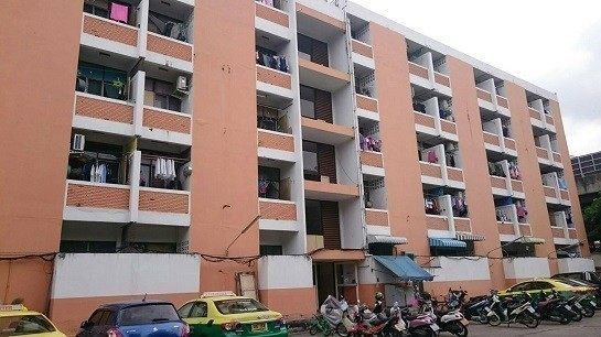 For Sale Apartment Complex 120 rooms in Din Daeng, Bangkok, Thailand | Ref. TH-KCLXPLCU