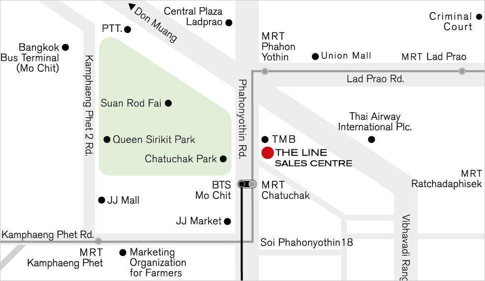 The Line Ratchathewi - Продажа: Кондо с 2 спальнями возле станции BTS Ratchathewi, Bangkok, Таиланд | Ref. TH-SDAXZZYP