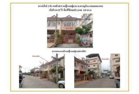 For Sale タウンハウス 149 sqm in Krathum Baen, Samut Sakhon, Thailand
