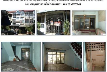 For Sale タウンハウス 138.8 sqm in Krathum Baen, Samut Sakhon, Thailand