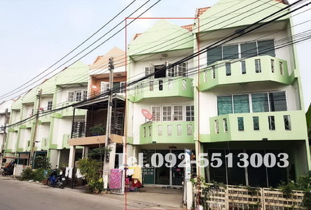 For Sale 2 Beds Shophouse in Mueang Pathum Thani, Pathum Thani, Thailand