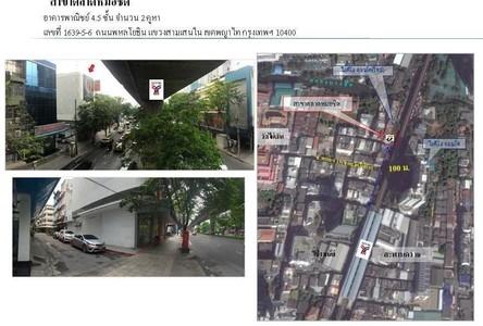 For Sale Shophouse 584 sqm in Phaya Thai, Bangkok, Thailand