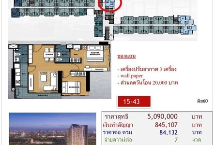 For Sale 2 Beds Condo in Bang Phlat, Bangkok, Thailand