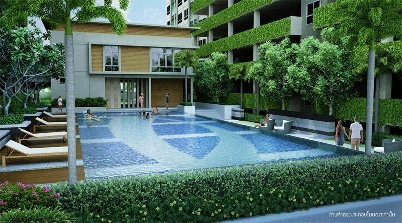 Lumpini Mega City Bangna - For Rent 1 Bed コンド in Bang Phli, Samut Prakan, Thailand   Ref. TH-BOFLHQYQ