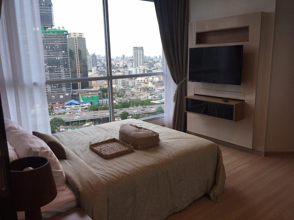 Rhythm Sathorn - For Rent 1 Bed コンド Near BTS Surasak, Bangkok, Thailand | Ref. TH-CNKCOENP