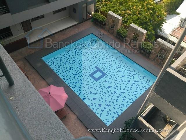 Prasanmit Condominium - For Rent 2 Beds Condo Near MRT Sukhumvit, Bangkok, Thailand | Ref. TH-OVJFILKX