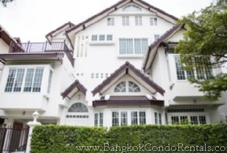 For Rent 5 Beds House in Khlong Toei, Bangkok, Thailand