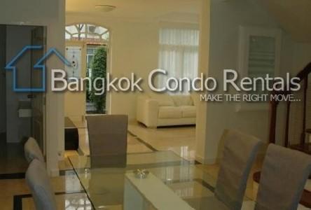 For Rent 4 Beds House in Khlong San, Bangkok, Thailand