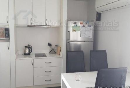 For Rent 2 Beds Condo Near MRT Sukhumvit, Bangkok, Thailand