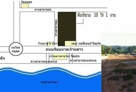 For Sale Land 10-1-0 rai in Tha Mai, Chanthaburi, Thailand