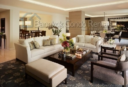 For Rent 3 Beds Condo Near BTS Ratchadamri, Bangkok, Thailand