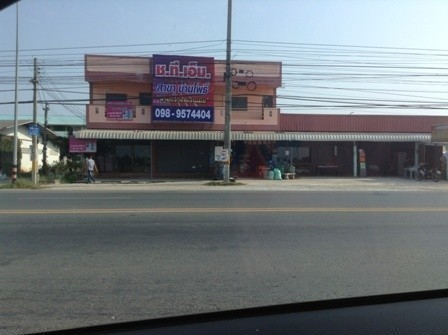 For Rent 1 Bed Shophouse in Ban Pho, Chachoengsao, Thailand | Ref. TH-WJYGDLNY