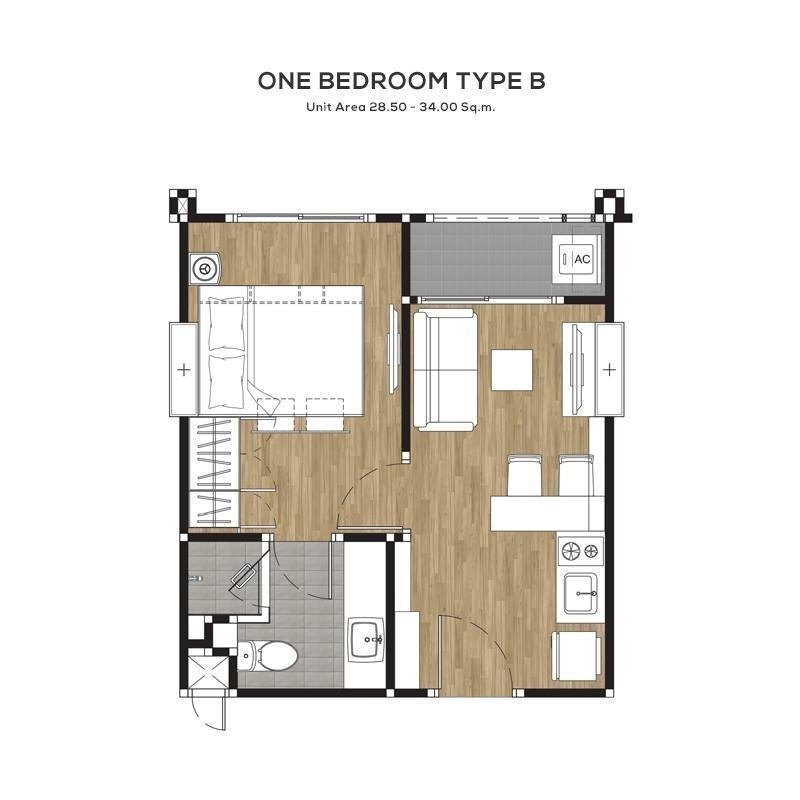 For Sale 1 Bed Condo in Chatuchak, Bangkok, Thailand   Ref. TH-VHIQEUTV