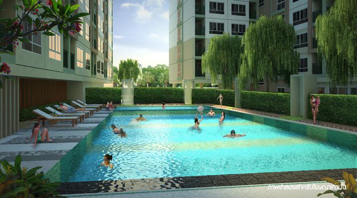 Lumpini Mega City Bangna - For Rent 1 Bed コンド in Bang Phli, Samut Prakan, Thailand | Ref. TH-JSMPRDSH