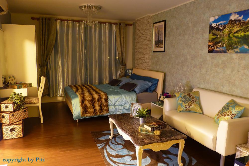 Baan Thew Lom - For Sale 1 Bed Condo in Cha Am, Phetchaburi, Thailand | Ref. TH-DOMHNAOC