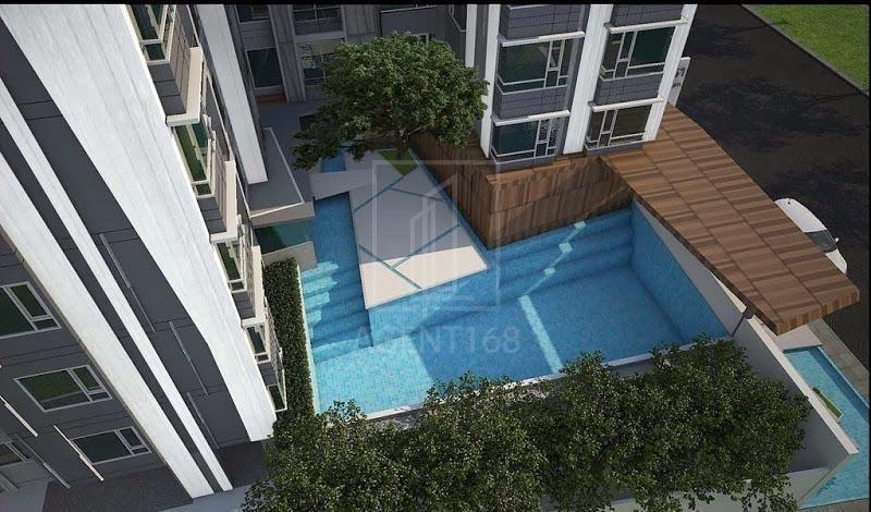 The Crest Sukhumvit 49 - For Sale コンド 34 sqm in Watthana, Bangkok, Thailand | Ref. TH-CSVEPBJH