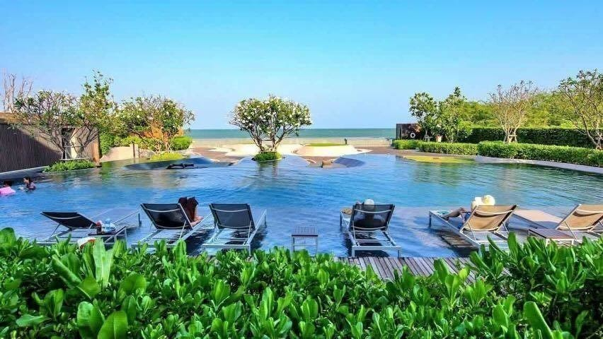 Baan San Ngam Huahin - For Sale 2 Beds コンド in Cha Am, Phetchaburi, Thailand | Ref. TH-GDABXMMD