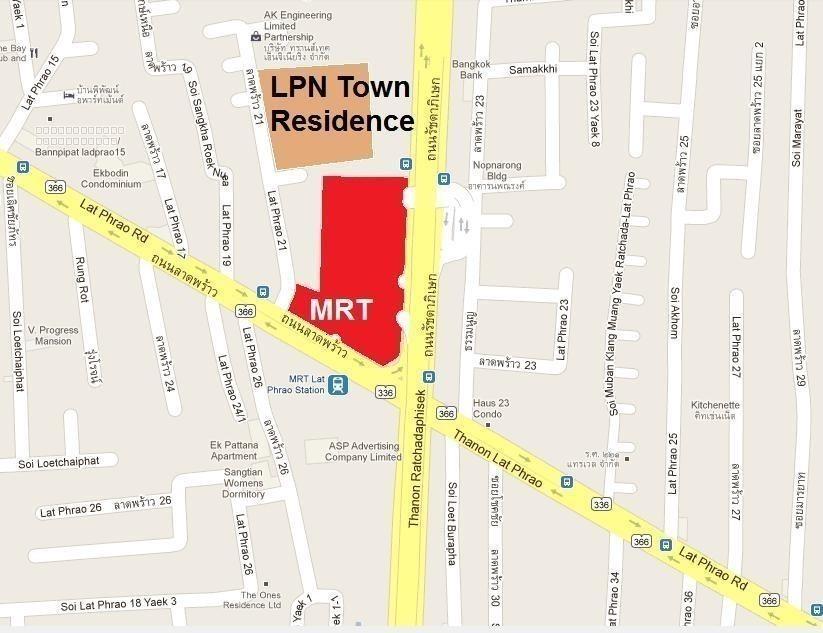В аренду: Офис с 2 спальнями в районе Chatuchak, Bangkok, Таиланд   Ref. TH-ALTNKGMY