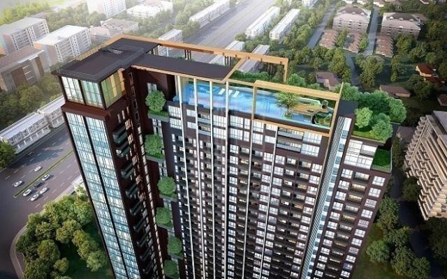 Whizdom Avenue Ratchada - Ladprao - For Sale 1 Bed コンド Near MRT Lat Phrao, Bangkok, Thailand | Ref. TH-DIOWQZFX