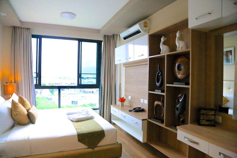 В аренду: Кондо c 1 спальней в районе Mueang Chiang Mai, Chiang Mai, Таиланд   Ref. TH-QUQKDSVL
