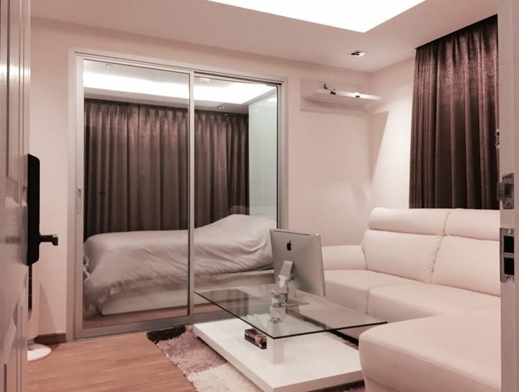 The Trust Residence Ratchada - Rama 3 - Продажа или аренда: Кондо c 1 спальней в районе Yan Nawa, Bangkok, Таиланд | Ref. TH-BECJGTMV