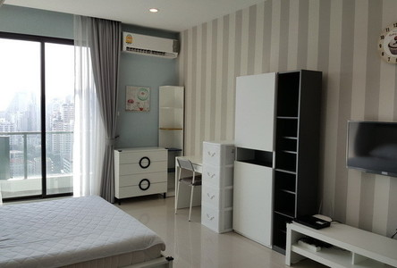 For Rent Condo 33.5 sqm Near MRT Phetchaburi, Bangkok, Thailand