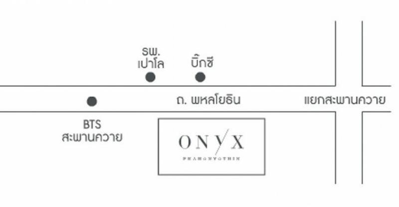 Onyx Phaholyothin - For Sale 1 Bed コンド Near BTS Saphan Khwai, Bangkok, Thailand | Ref. TH-WFZVUZZT