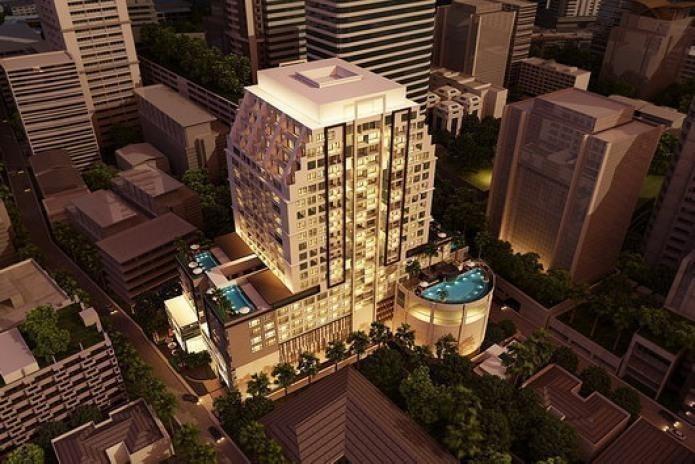 15 Sukhumvit Residences - For Sale 1 Bed Condo Near BTS Nana, Bangkok, Thailand | Ref. TH-LWPQYVIL