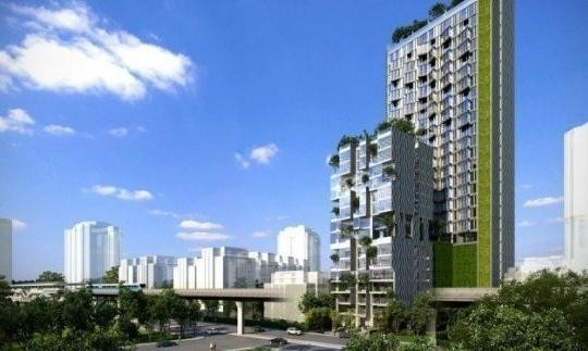 Siamese Ratchakru - For Sale or Rent 1 Bed コンド Near BTS Sanam Pao, Bangkok, Thailand | Ref. TH-OHNFXBLV