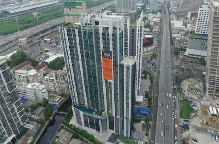 Condolette Midst Rama 9 - For Sale コンド 22 sqm Near MRT Phetchaburi, Bangkok, Thailand   Ref. TH-GJSIBODE