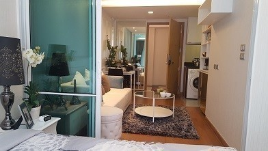 Inter Lux Residence - For Sale コンド 29 sqm in Watthana, Bangkok, Thailand | Ref. TH-MMVRGLXP
