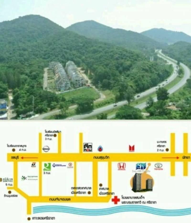 ให้เช่า คอนโด 1 ห้องนอน ศรีราชา ชลบุรี | Ref. TH-YVUALXJF
