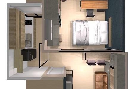 ขาย คอนโด 1 ห้องนอน ติด MRT เพชรบุรี