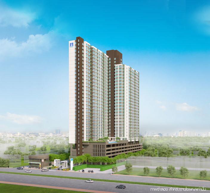 Lumpini Place Suksawat - Rama 2 - For Sale 1 Bed コンド in Chom Thong, Bangkok, Thailand | Ref. TH-KSIBOOJF