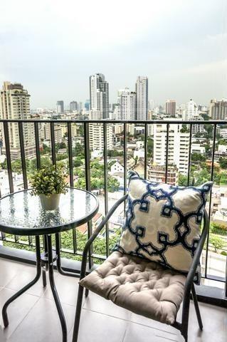 Edge Sukhumvit 23 - For Rent 1 Bed Condo Near MRT Sukhumvit, Bangkok, Thailand | Ref. TH-RJCUMMXM