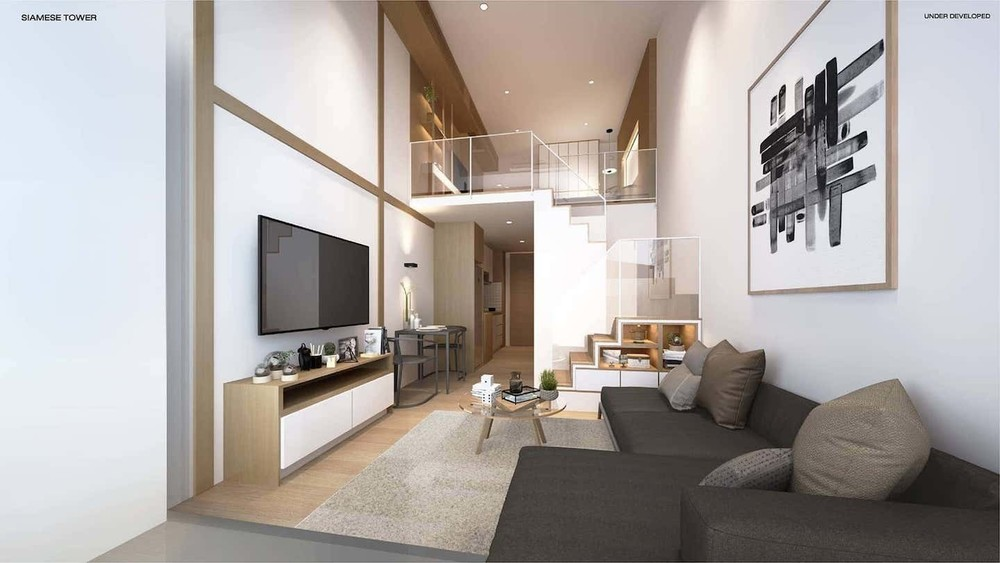 Siamese Rama 9 - For Sale 1 Bed Condo in Huai Khwang, Bangkok, Thailand | Ref. TH-HYFLSDPA
