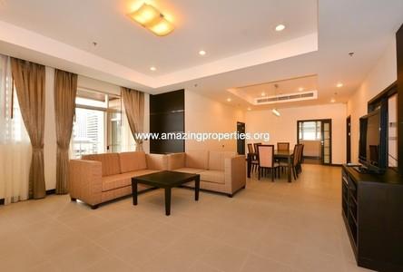 For Rent 3 Beds Condo Near MRT Phetchaburi, Bangkok, Thailand